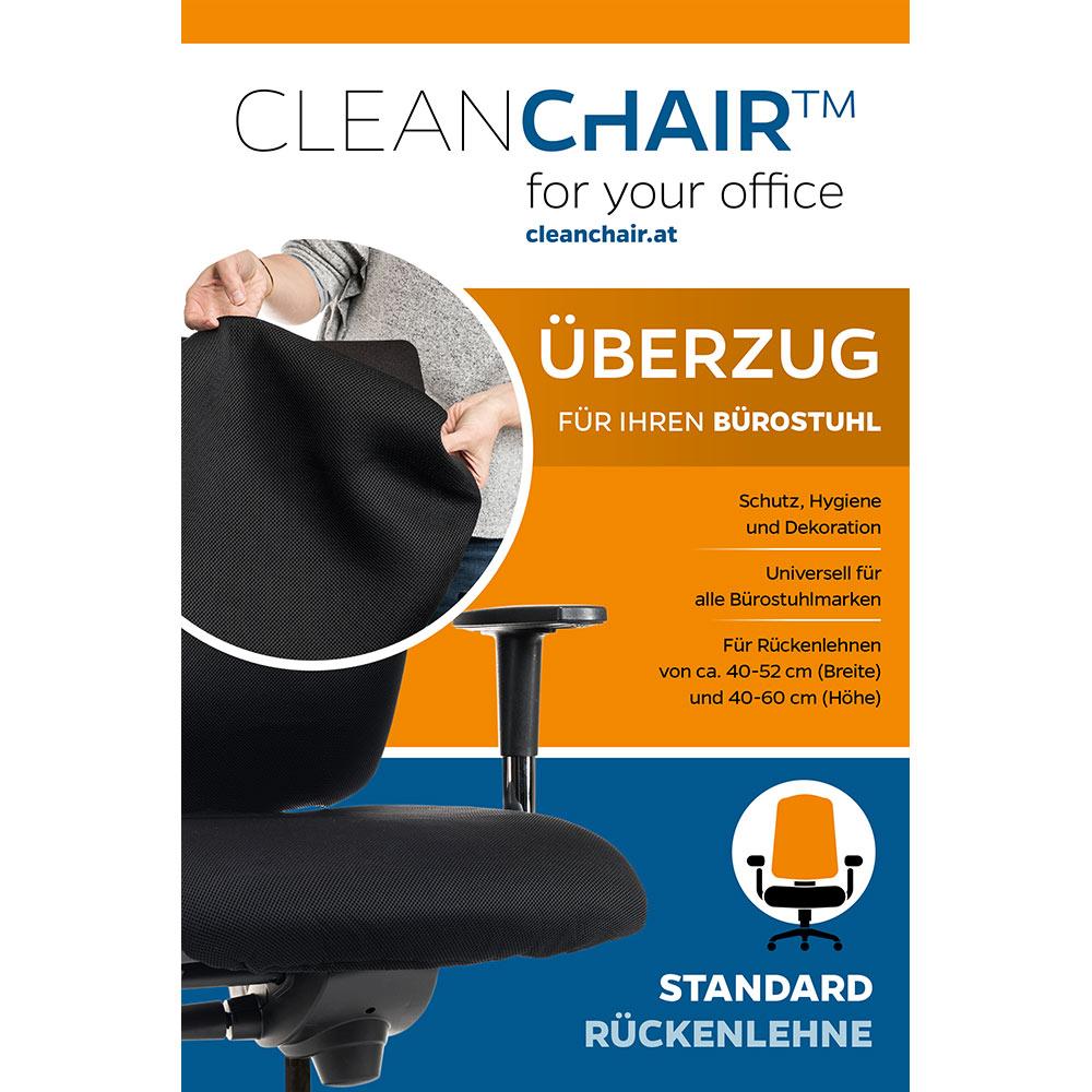 r ckenlehne standard berzug f r ihren b rostuhl mit einer r ckenlehne von ca 40 52 cm. Black Bedroom Furniture Sets. Home Design Ideas